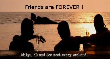 Rock On Farhan, Arjun, Purab_Friends Forever