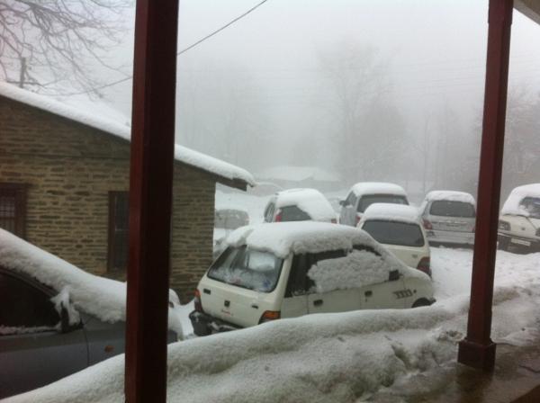 Snowfall in Dalhousie